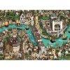 GALISON Puzzle Shakespearův svět 1000 dílků