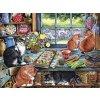 COBBLE HILL Puzzle Kočičí útočiště 500 dílků