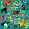 MUDPUPPY Čtvercové puzzle Zvířata z deštného pralesa 500 dílků