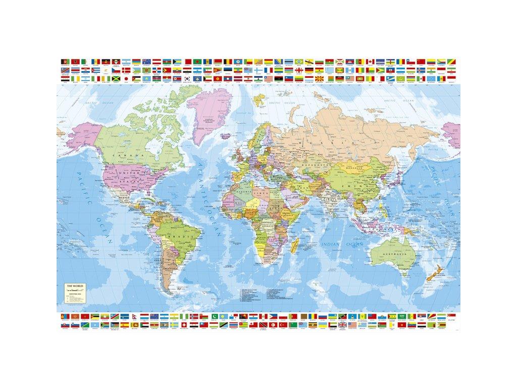 Politicka Mapa Sveta Puzzleshop Cz