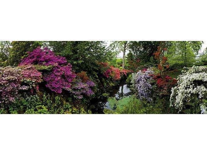 Alexander von Humboldt - Zahrada (Bodnant Garden) - panorama