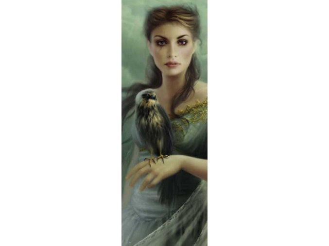 Mélanie Delon: Sokol (Falcon) - vertikální