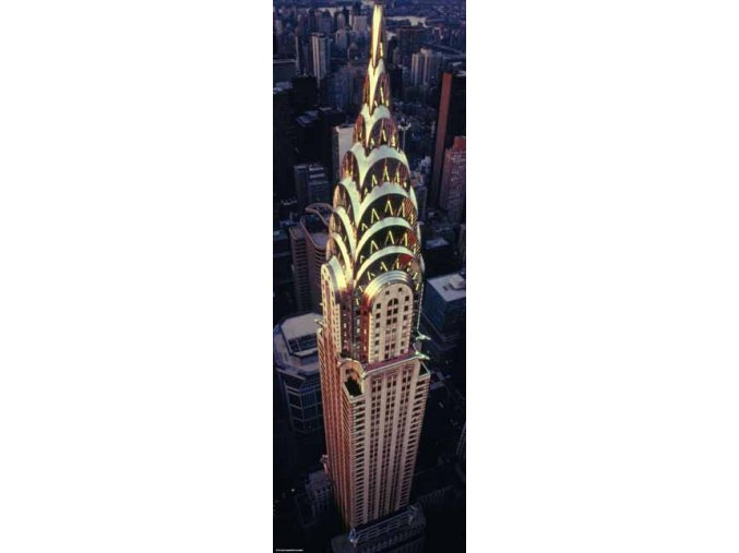 Chrysler Building - New York, Manhattan - vertikální