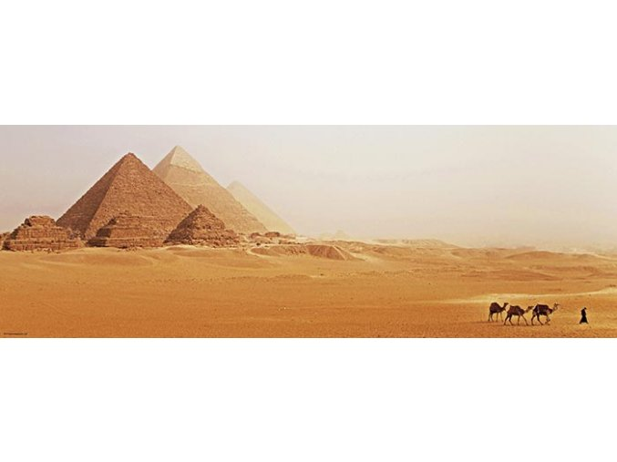 Alexader von Humboldt: Egypt - Pyramidy - panorama