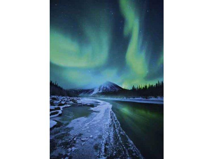 Síla přírody - Polární záře (Power of Nature - Northern Lights)