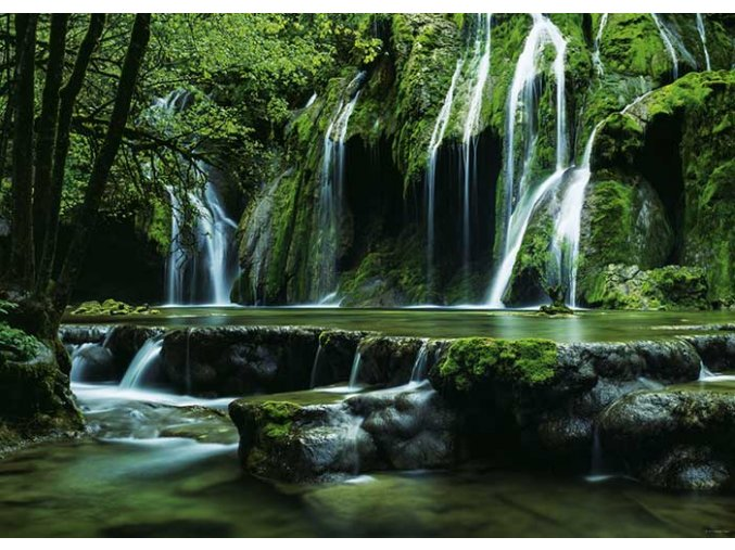 Magický les - Vodopády (Magic Forest - Cascades)