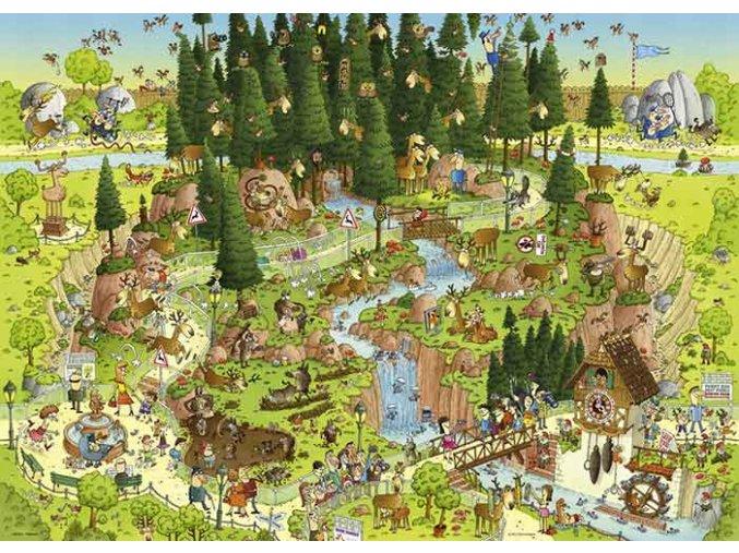 Degano: Black Forest Habitat - Funky ZOO