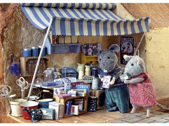 Mouse Mansion - Prodejní stánek (Market Stand)