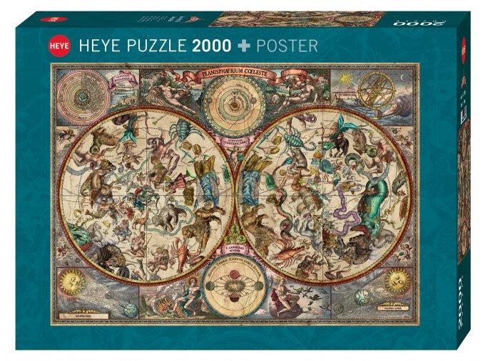 Rajko Zigic: Nebeská mapa + plakát