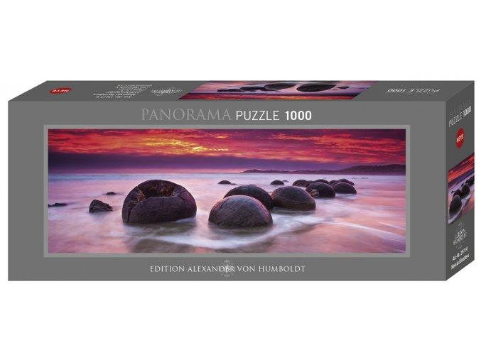 Alexander von Humboldt: Nový Zéland - Tajemné balvany Moeraki - panorama