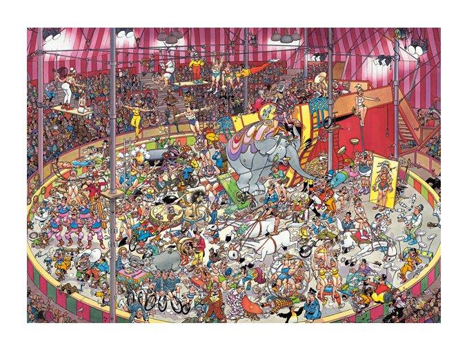 Jan van Haasteren: Cirkus (The Circus)