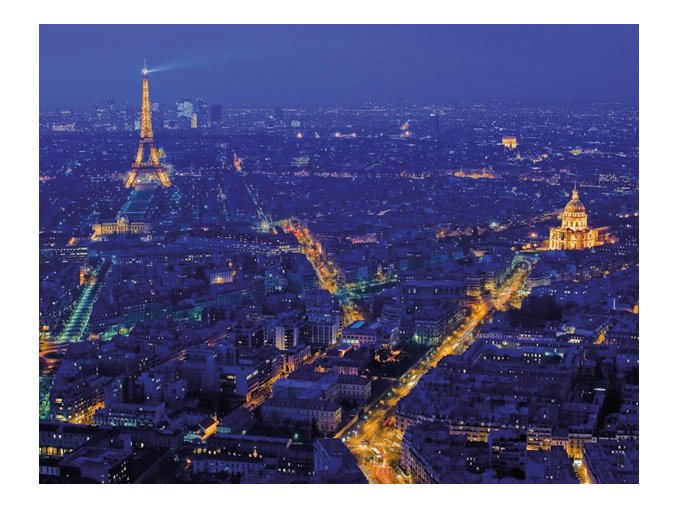 Paříž v noci