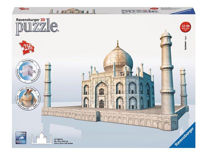 Taj Mahal 3D - 216 + 101 dílků