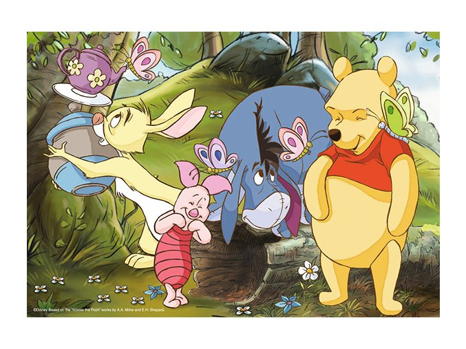 Walt Disney: Legrace s Medvídkem Pú - 2 x 20 dílků