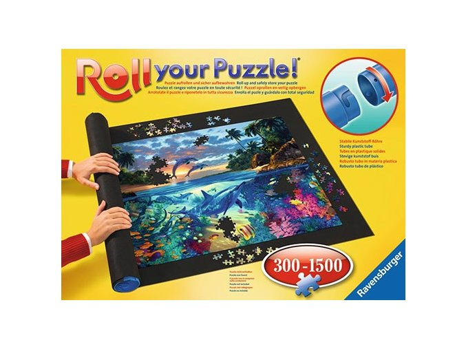 Podložka na skládání puzzle 300 až 1500 dílků