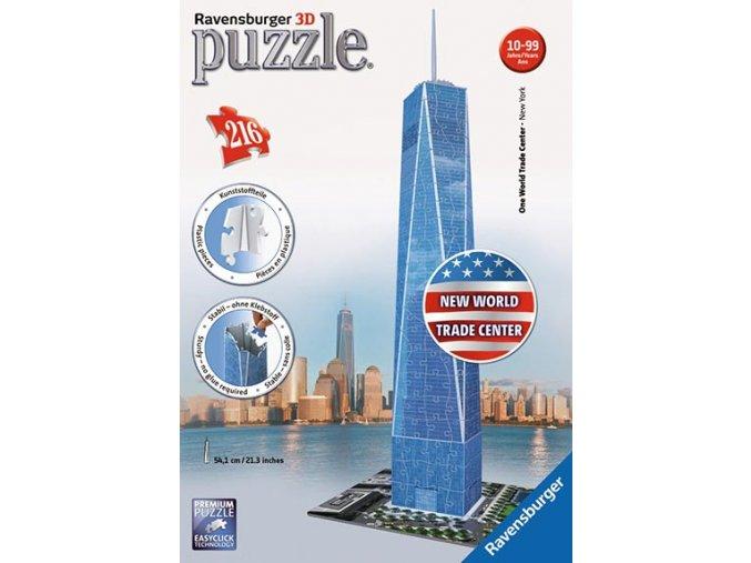 One World Trade Center - 3D - 216 dílků