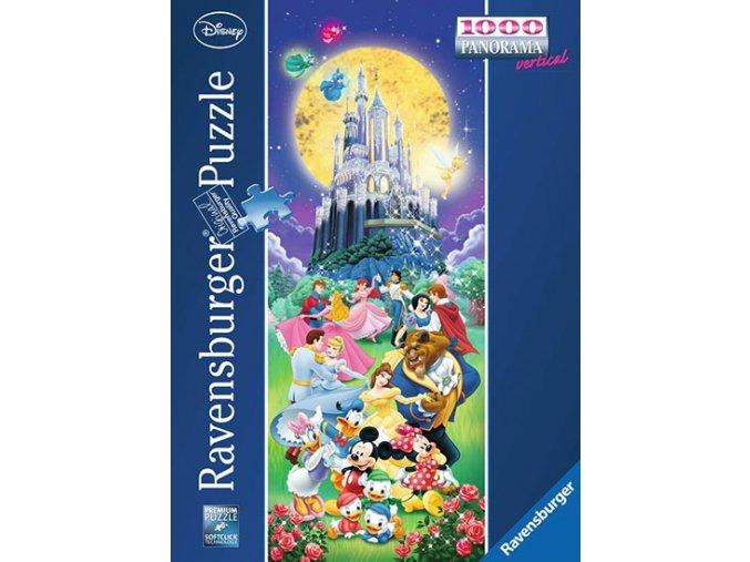 Walt Disney Castle - vertikální