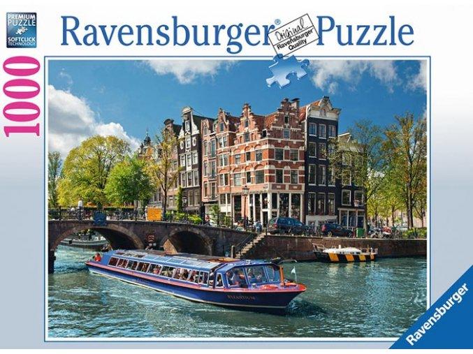 Kanal Tour v Amsterdamu