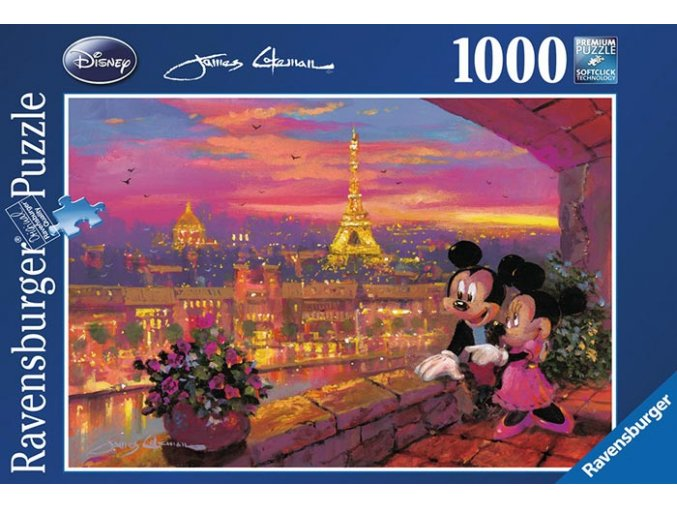 Mickey a Minnie v Paříži (Paris Sunset)
