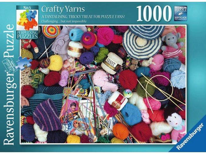 Zapeklitá prohnaná příze (Perplexing Crafty Yarns)