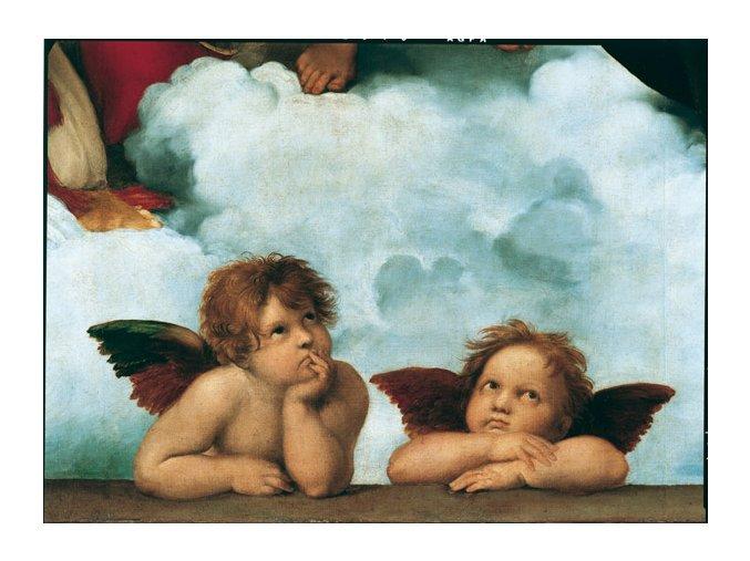 Raffaello:  Madonna Sixtine