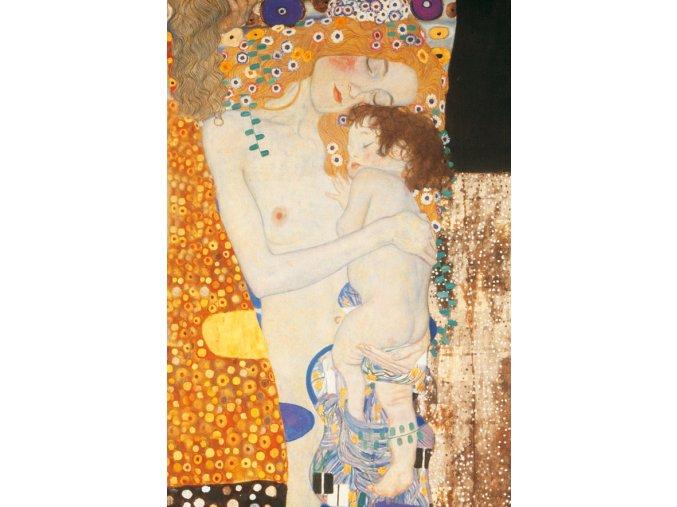 Klimt: Tři životní období ženy (detail)