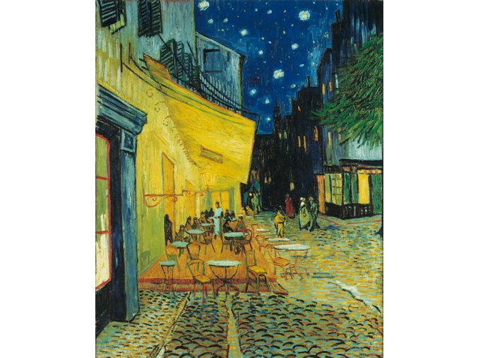 Van Gogh: Kavárna v noci