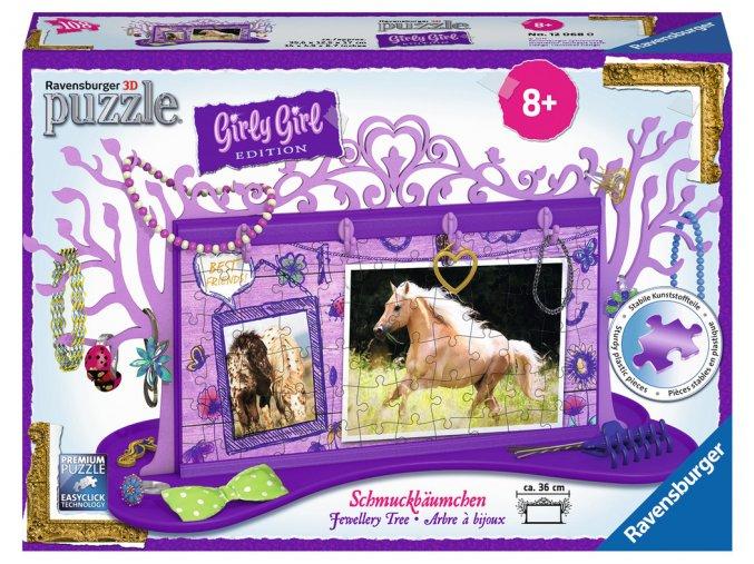 Girly Girl - Šperkovnice Koně - 3D