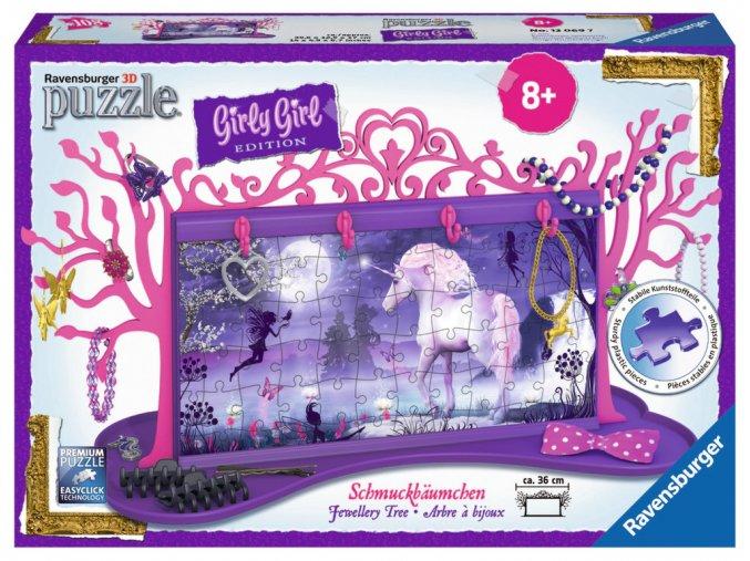 Girly Girl - Šperkovnice Jednorožec - 3D