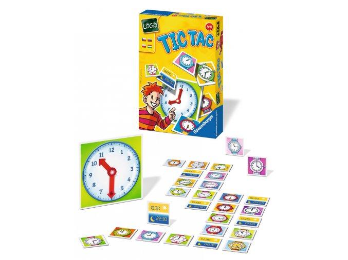Tic Tac - Kolik je hodin? Nauč se znát hodiny