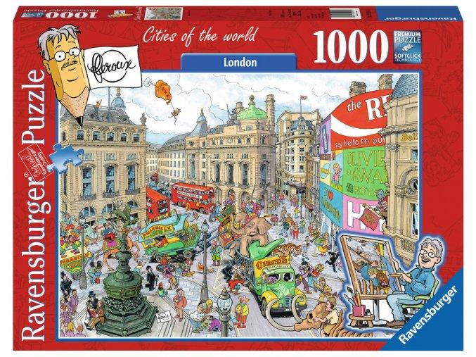 Frans de Leroux: Londýn
