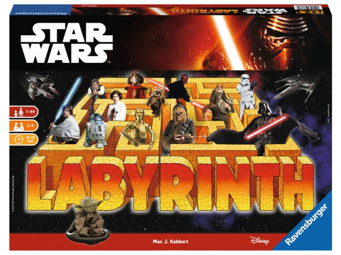 Walt Disney: Star Wars - Labyrint - hra