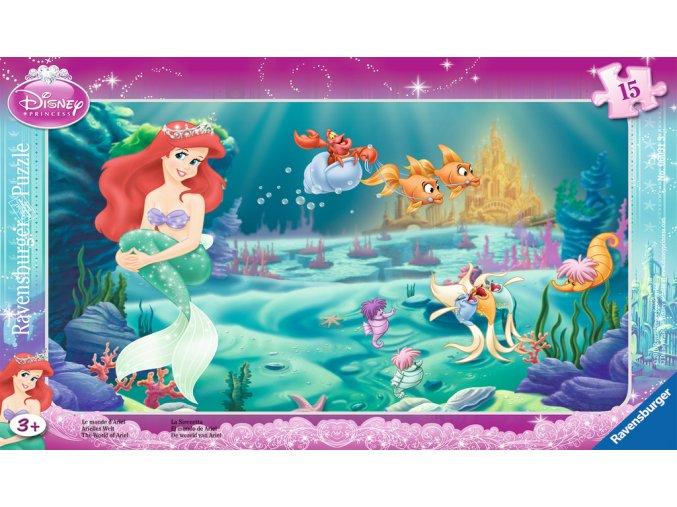 Walt Disney: Princezna Ariel - deskové v rámečku