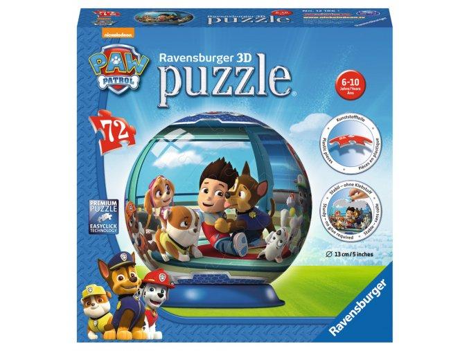 Paw Patrol - 3D puzzleball