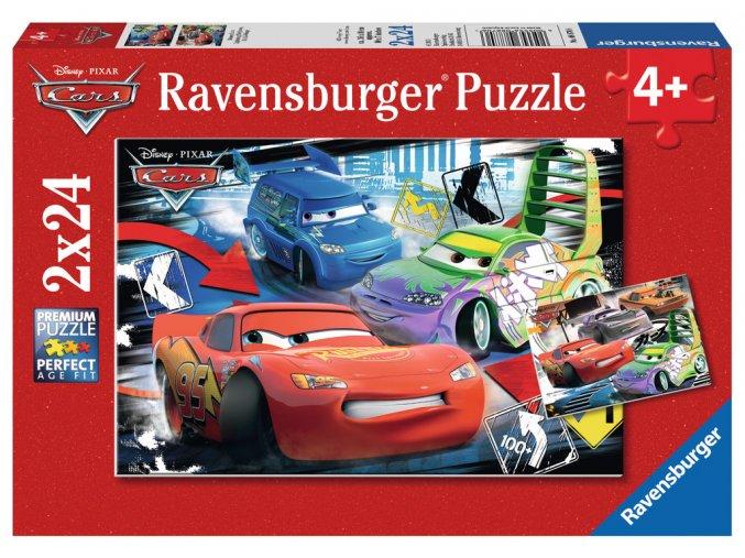 Walt Disney: Cars - Divoký závod - 2 x 24 dílky