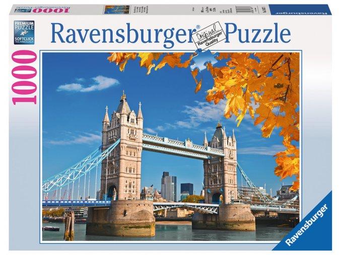 Londýn: Pohled na Tower Bridge
