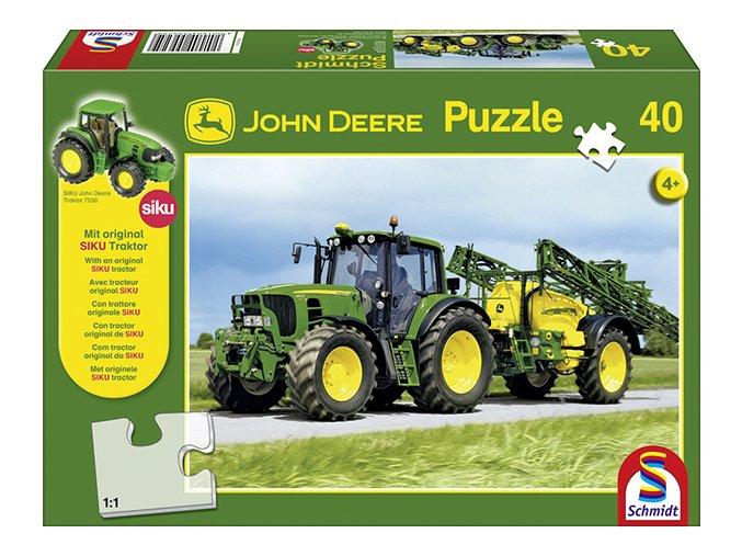 Traktor John Deere 6630 + model Siku