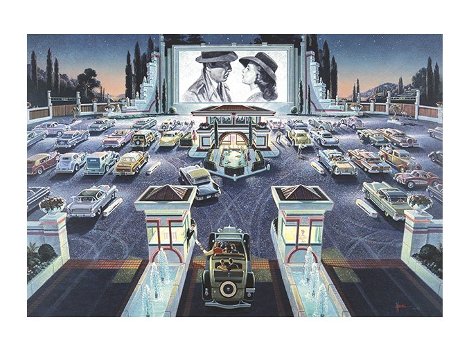 Michael Young: Autokino (Drive-in Cinema)