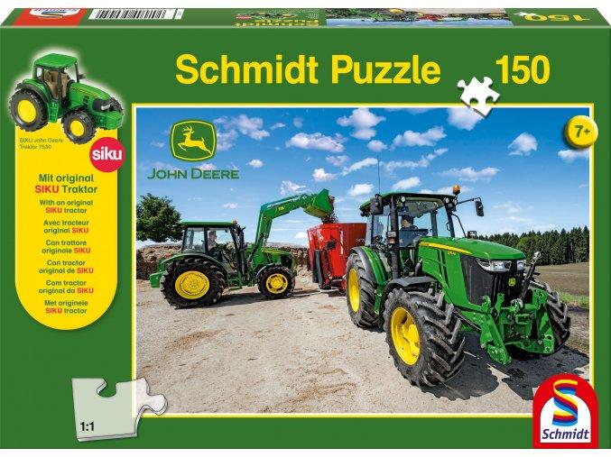 Traktor John Deere série M + model Siku
