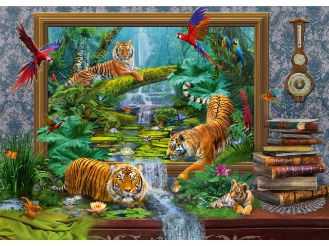 Jan Patrik Krasny: Oživlé obrazy - Tygři