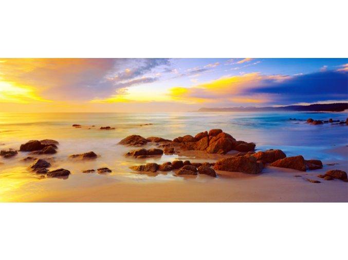 Mark Gray: Friendly Beaches - Tasmania Austrálie - mini puzzle - 136 dílků