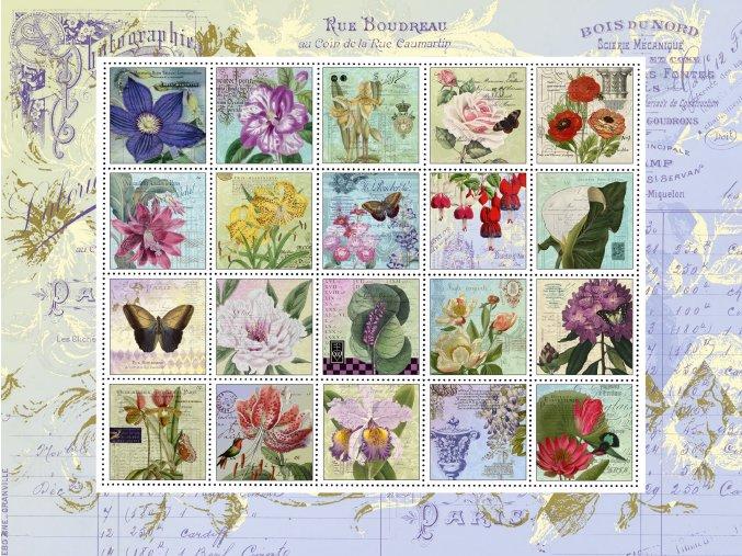 Nostalgické poštovní známky