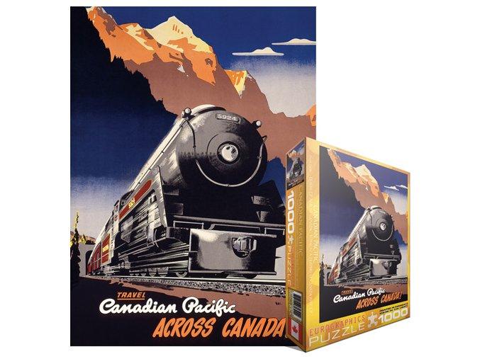 Kanadská pacifická železnice - Cestování napříč Kanadou (Canadian Pacific - Peter Ewart: Travel Across Canada)