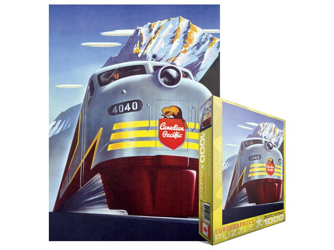 Kanadská pacifická železnice - Lokomotiva Diesel 4040 (Canadian Pacific - Peter Ewart: Diesel 4040)
