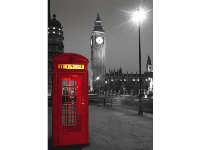 Londýn: Telefonní budka