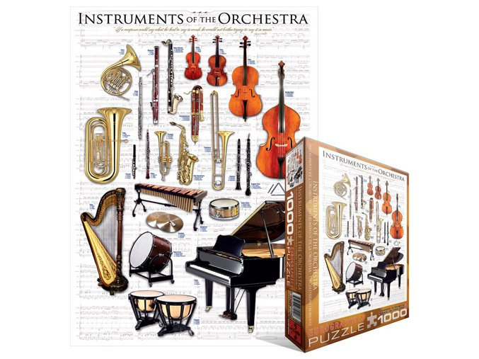 Nástroje orchestru (Instruments of the Orchestra)