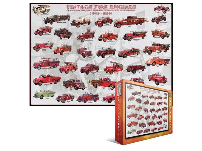 Staré hasičské vozy (Vintage Fire Engines)