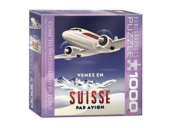 Suisse - Par avion