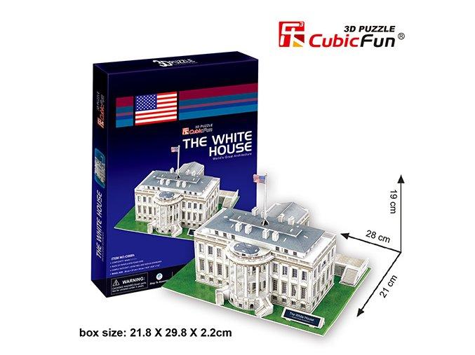 Bílý dům (Washington) 3D - 65 dílků