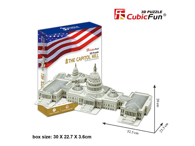 Capitol Hill (Washington) 3D - 132 dílky